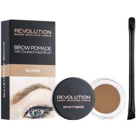Makeup Revolution Brow Pomade pomáda na obočí odstín Blonde 2,5 g