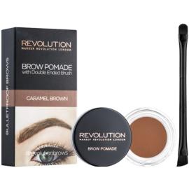 Makeup Revolution Brow Pomade Spancene Pomada culoare Caramel Brown 2,5 g