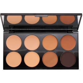 Makeup Revolution Cover & Conceal paleta korektorů odstín Medium - Dark 10 g