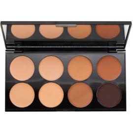 Makeup Revolution Cover & Conceal paleta korektorów odcień Medium - Dark 10 g