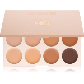 Makeup Revolution Pro HD Camouflage paleta korektorů odstín Medium Dark 10 g