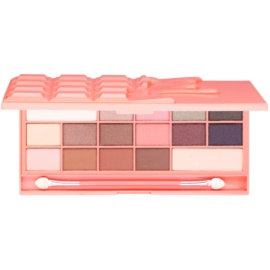 Makeup Revolution I ♥ Makeup Chocolate and Peaches paleta de sombras de ojos  22 g