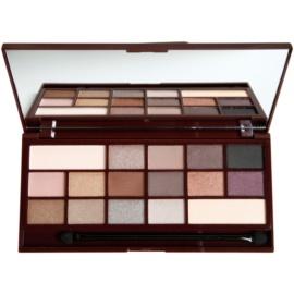 Makeup Revolution I ♥ Makeup Death By Chocolate paleta očních stínů  22 g