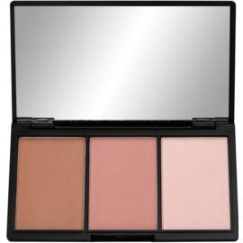 Makeup Revolution I ♥ Makeup Definition paleta na kontury obličeje odstín Fair 11 g