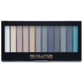 Makeup Revolution Essential Day to Night paleta farduri de ochi  14 g