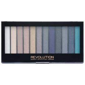 Makeup Revolution Essential Day to Night paleta očních stínů  14 g