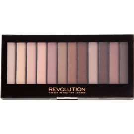 Makeup Revolution Essential Mattes 2 paleta farduri de ochi  14 g