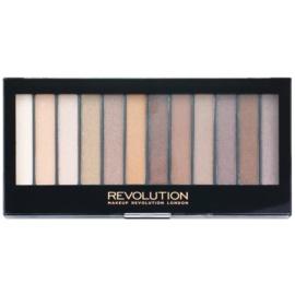 Makeup Revolution Essential Shimmers paleta očních stínů  14 g