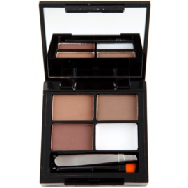 Makeup Revolution Focus & Fix Set für perfekte Augenbrauen Farbton Medium Dark 4 g