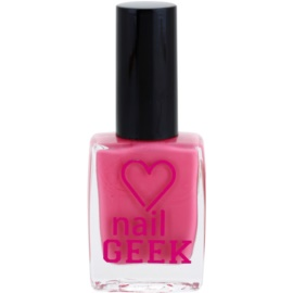 Makeup Revolution Nail Geek lak na nehty odstín 11 Cheeky Pink 12 ml