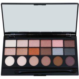 Makeup Revolution Girl Panic paleta očních stínů  13 g