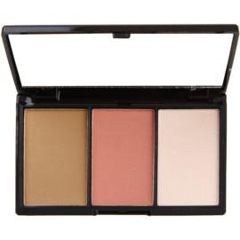Makeup Revolution I ♥ Makeup I Heart Definition paleta na kontury obličeje odstín Medium 11 g