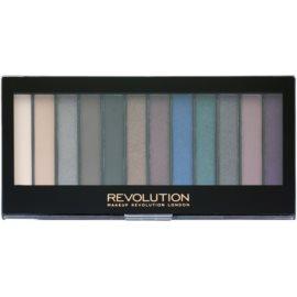 Makeup Revolution Hot Smoked paleta očních stínů  14 g