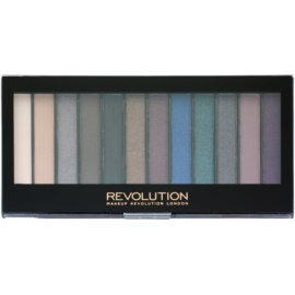 Makeup Revolution Hot Smoked paleta farduri de ochi  14 g