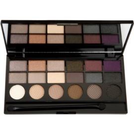 Makeup Revolution Hard Day paletka očných tieňov  13 g