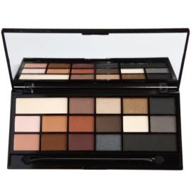 Makeup Revolution I ♥ Makeup Black Velvet paleta očních stínů  22 g