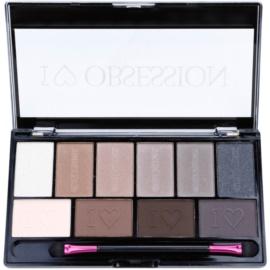 Makeup Revolution I ♥ Makeup I ♥ Obsession Palette paleta očních stínů (Born To Die) 17 g