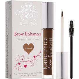 Makeup Revolution Katie Price gel fixare pentru sprancene culoare Auburn 3,8 g