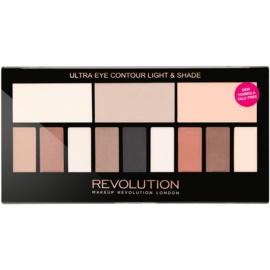 Makeup Revolution Ultra Eye Contour Paleta contur pentru ochi culoare Light & Shade 14 g
