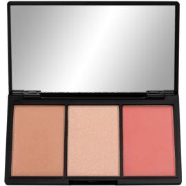 Makeup Revolution Iconic paleta pentru contur facial culoare Rave  11 g