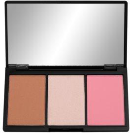 Makeup Revolution Iconic paleta pentru contur facial culoare Smoulder  11 g