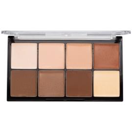 Makeup Revolution Ultra Pro HD Light Medium paleta do konturowania twarzy kremowa  20 g