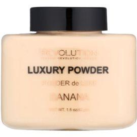 Makeup Revolution Luxury Powder мінеральна пудра відтінок Banana 42 гр