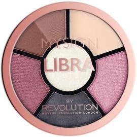 Makeup Revolution My Sign paletă pentru ochi culoare Libra  4,6 g