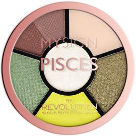 Makeup Revolution My Sign paletă pentru ochi culoare Pisces  4,6 g
