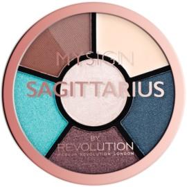 Makeup Revolution My Sign paletă pentru ochi culoare Sagittarius  4,6 g