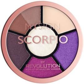 Makeup Revolution My Sign paletă pentru ochi culoare Scorpio  4,6 g
