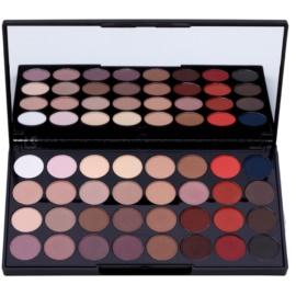 Makeup Revolution Flawless Matte 2 Palette mit Lidschatten mit Spiegel  20 g