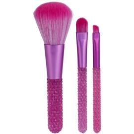 Makeup Revolution I ♥ Makeup Pink Diamonds sada mini štetců  3 ks