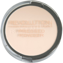 Makeup Revolution Pressed Powder puder w kompakcie odcień Porcelain 7,5 g