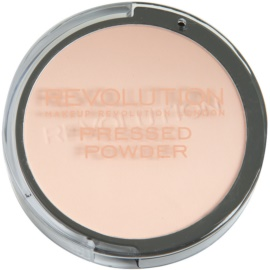 Makeup Revolution Pressed Powder kompaktní pudr odstín Translucent 7,5 g