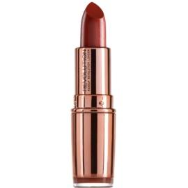 Makeup Revolution Rose Gold ruj hidratant culoare Chauffeur 4 g