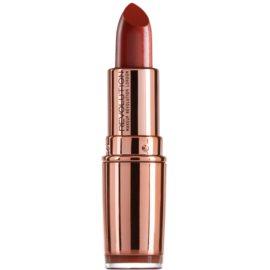 Makeup Revolution Rose Gold szminka nawilżająca odcień Chauffeur 4 g