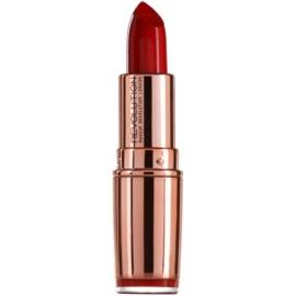Makeup Revolution Rose Gold hydratační rtěnka odstín Red Carpet 4 g