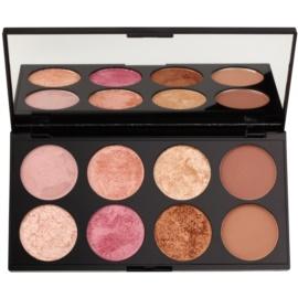 Makeup Revolution Golden Sugar 2 Rose Gold paleta de coloretes  con un espejo pequeño  13 g