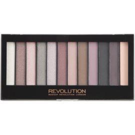 Makeup Revolution Romantic Smoked paleta očních stínů  14 g