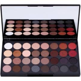Makeup Revolution Flawless 2 paleta senčil za oči z ogledalom  20 g