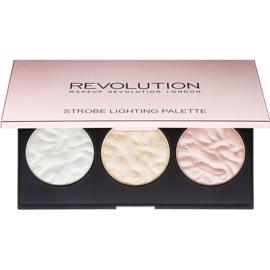 Makeup Revolution Strobe Lighting paleta highlightera  11,5 g