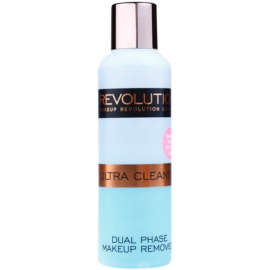 Makeup Revolution Ultra Cleanse dvoufázový odličovač make-upu  150 ml