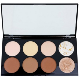 Makeup Revolution Ultra Contour paleta para contornos faciales  13 g