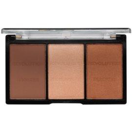 Makeup Revolution Ultra Sculpt & Contour paleta na kontúry tváre odtieň 04 Ultra Ligt/Medium 11 g