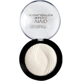 Makeup Revolution Vivid Baked polvos horneados iluminadores tono Golden Lights 7,5 g