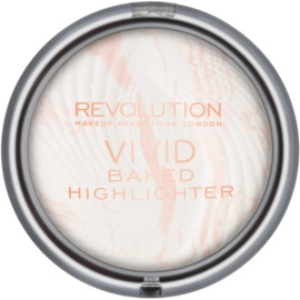 Makeup Revolution Vivid Baked zapečený rozjasňující pudr odstín Matte Lights 7,5 g