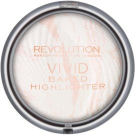 Makeup Revolution Vivid Baked pečeni posvetlitveni puder odtenek Matte Lights 7,5 g