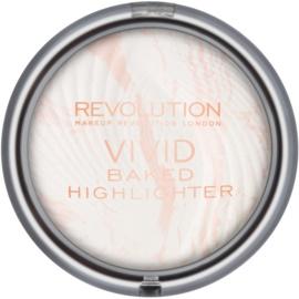 Makeup Revolution Vivid Baked polvos horneados iluminadores tono Matte Lights 7,5 g