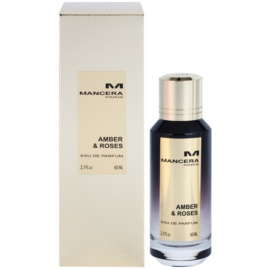 Mancera Amber & Roses parfémovaná voda unisex 60 ml